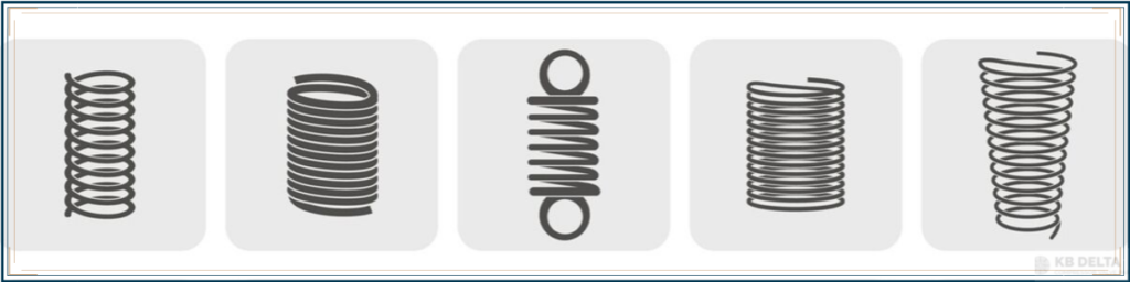 5 Common Types of Springs and Materials - KB Delta