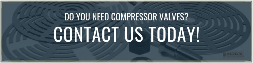 Contact Us for Compressor Valve Peripherals - KB Delta