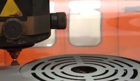 A Laser Metal Cutting CNC Machine - KB Delta