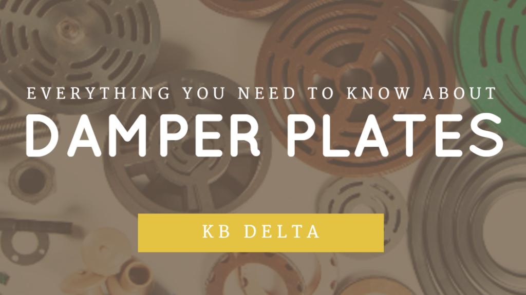 Damper Plates | KB Delta