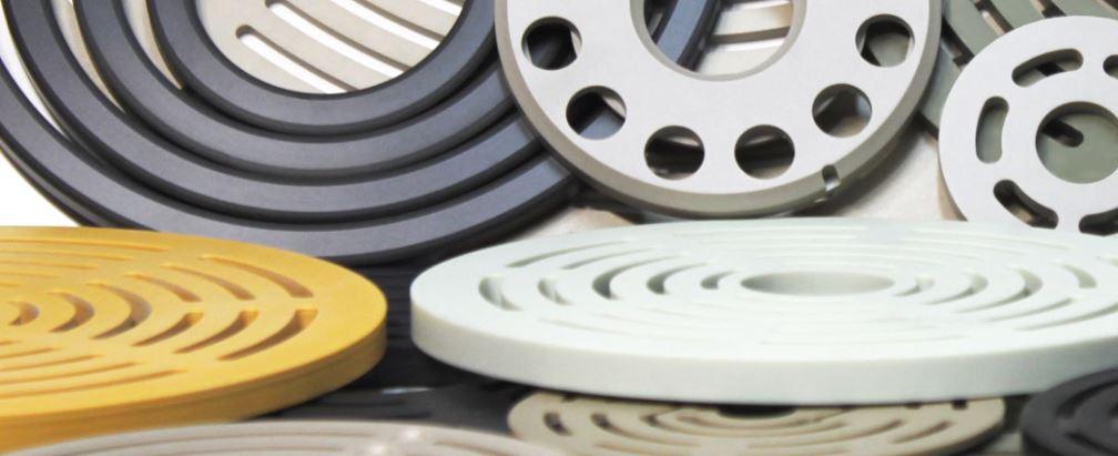 Thermoplastic valve plates   KB Delta