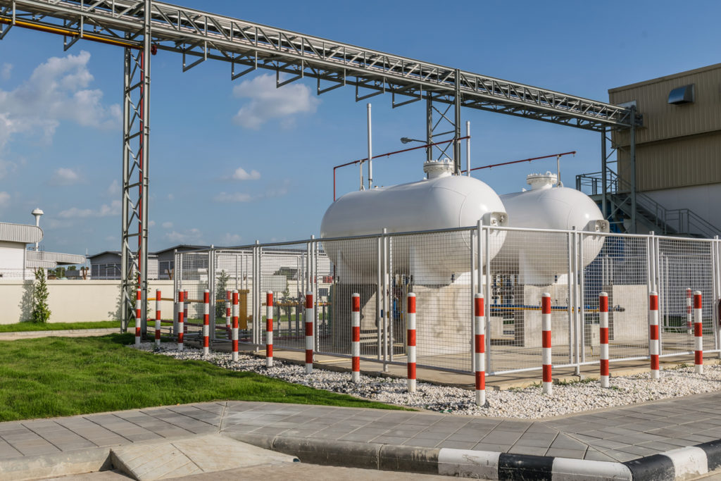 Natural Gas Compressor Station - KB Delta