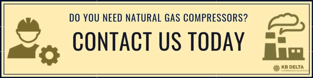 Contact Us for Natural Gas Compressor Valves - KB Delta