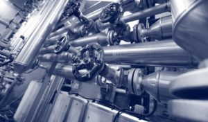 Steel Valves, Oil and Gas Valves in Industrial Zone - KB Delta