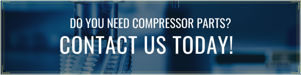 Contact Us for Compressor Gaskets or Other Peripherals - KB Delta