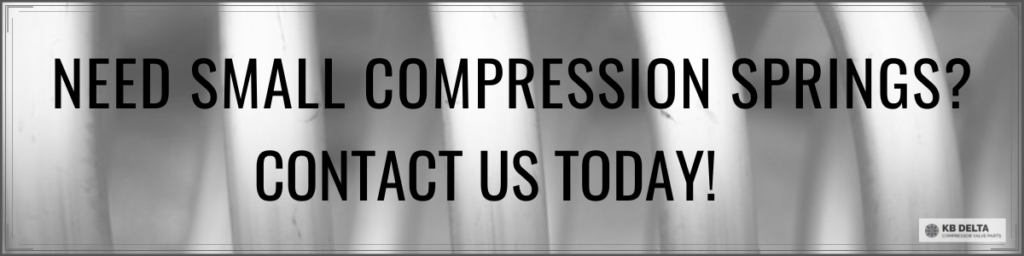 The Common Uses of Small Compression Springs - KB Delta
